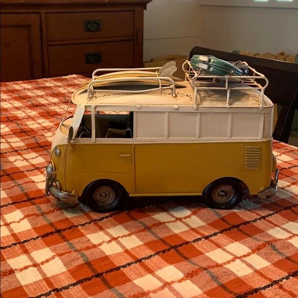 Metal VW Wagon Van
